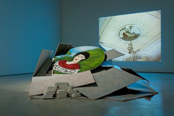 "Jamelie Hassan ""Boutros Al Armenian/ Mediterranean Modern II"" 1997/ 2012<br>Photograph by Frank Piccolo"