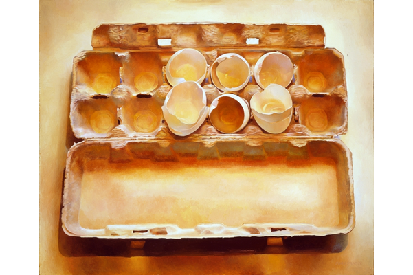 Eggs in an Egg Crate