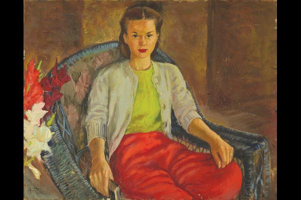 Portrait of Judy (Saltmarche)