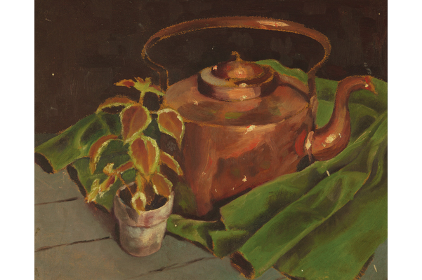 Untitled (Copper tea kettle)
