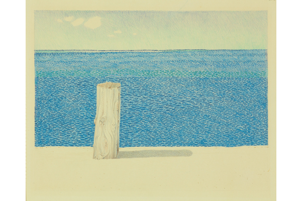 Untitled (Ocean and pier)