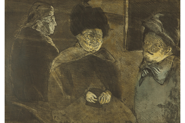 Self-Portrait with Models