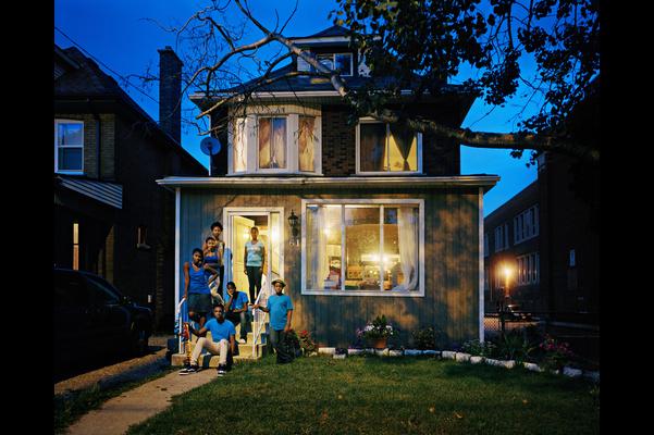 Bowen Family, Maplewood Avenue, Hamilton, Ontario