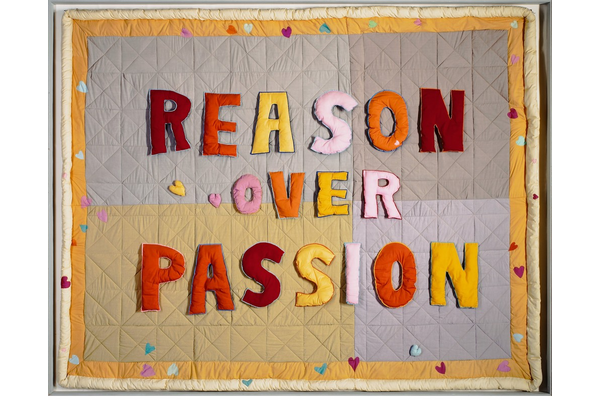 <strong>Joyce  Wieland</strong>, <em>Reason Over Passion</em>, 1968