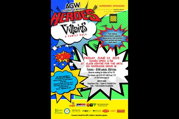 Heroes & Villains: A Family Gala