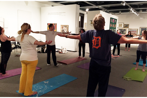 Yoga at the Gallery