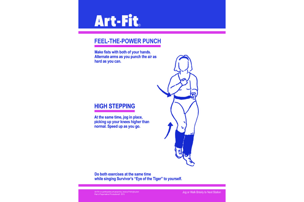 Jessercise ArtFit Exercise Circuit
