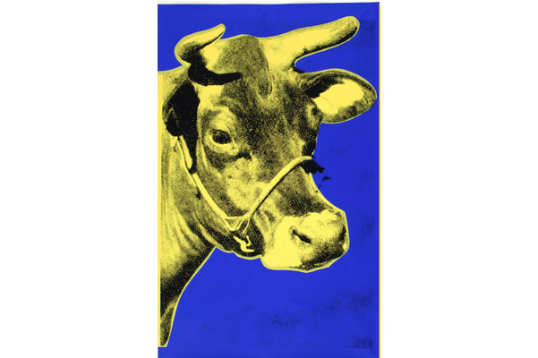 Wall paper (Cow), 1971