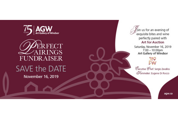 Save the Date! -  Perfect Pairings 2019