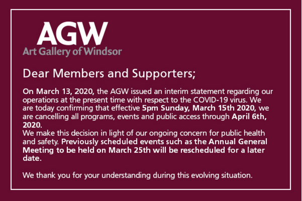 News from the AGW