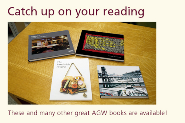 Special Offer on AGW Books