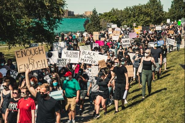Signs of Protest - Black Lives Matter