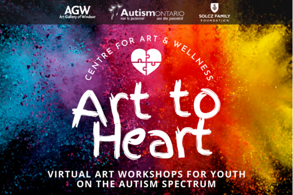 Art to Heart: Virtual art workshops for youth on the Autism spectrum
