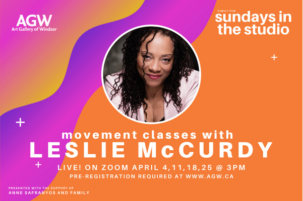 Sundays in the Studio LIVE! with Leslie McCurdy