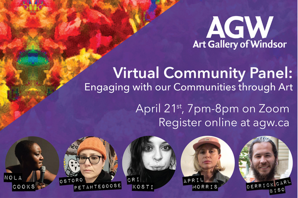 Virtual Community Panel: Engaging with our Communities through Art