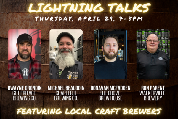 Lightning Talks with Community Creators: Craft Brewers