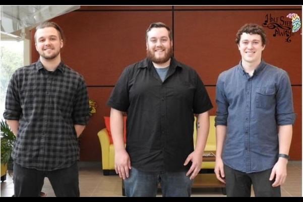 Adrian Deschamps, Shane Trowbridge, and Jordan Bonneau, Half Step Away