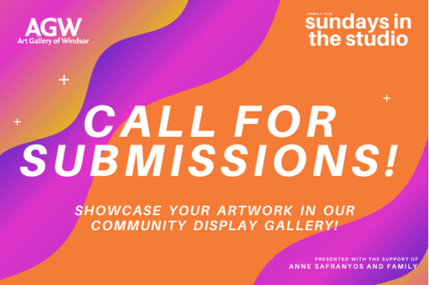 Call for Submissions! Sundays in the Studio