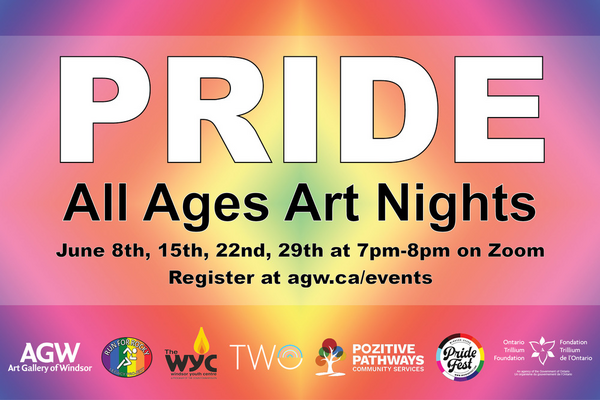 PRIDE: All Ages Art Nights - Powerful Photography