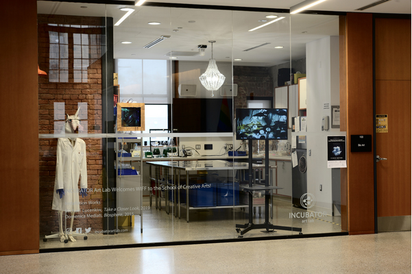 INCUBATOR Art Lab, University of Windsor School of Creative Arts, 2020. Image credit: Shawn Chamberlain.