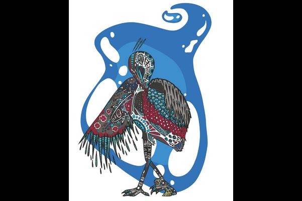 Ashagi (Blue Heron)