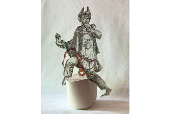Zoraida Anaya,Cobre y Cal, 2020, mixed media,8 cm x 15 cm x 7 cm,Artist's collection