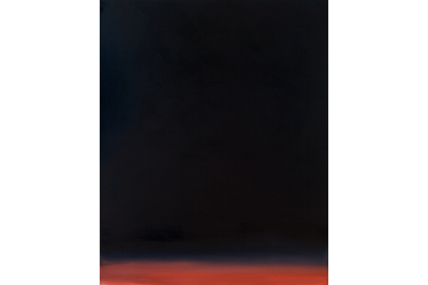 Jacques Descoteaux,Vol de nuit, 2019,oil on canvas,76.2 x 61.0 cm