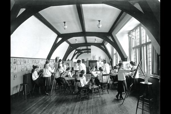 Art Studio, Bishop Strachan School, Toronto