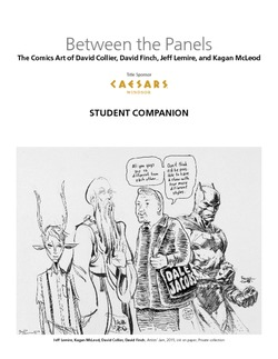 BETWEEN THE PANELS (Student Companion)